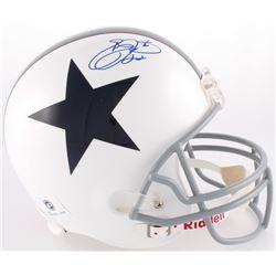 Emmitt Smith Signed Cowboys Full-Size Helmet (Prova Hologram)