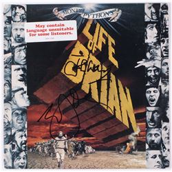 "Eric Idle  John Cleese Signed Monty Python's ""Life of Brian"" Vinyl Record Album (JSA COA)"