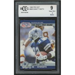 1991 Score #675 Emmitt Smith/Carrier ROY (BCCG 9)