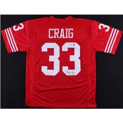 Roger Craig Signed 49ers Jersey (PSA COA  Craig Hologram)