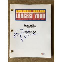 "Chris Rock Signed ""The Longest Yard"" Full Movie Script (PSA COA)"
