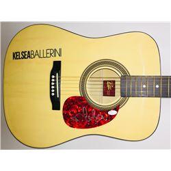 Kelsea Ballerini Signed Acoustic Guitar (JSA COA)