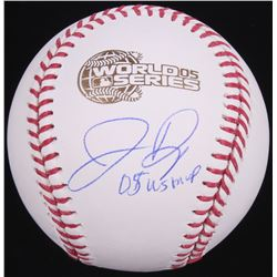 "Jermaine Dye Signed 2005 World Series Baseball Inscribed ""2005 WS MVP"" (Schwartz Sports COA)"