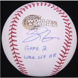 "Scott Podsednik Signed 2005 World Series Baseball Inscribed ""Game 2 Walk Off HR"" (Schwartz Sports CO"