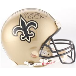 Reggie Bush Signed Saints Authentic Pro-Line On-Field Full-Size Helmet (Schwartz COA)