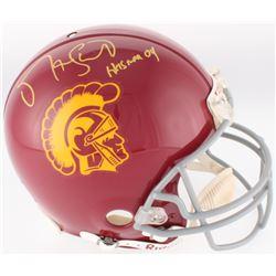 Matt Leinart Signed USC Trojans Authentic On-Field Full-Size Helmet (Schwartz Hologram)