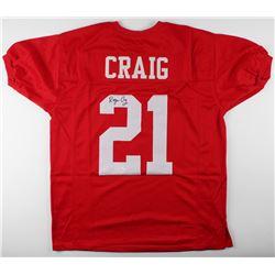 Roger Craig Signed Nebraska Cornhuskers Jersey (JSA COA)