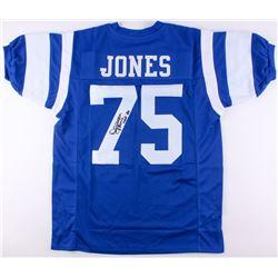 """Deacon Jones Signed Rams Jersey Inscribed """"HOF 80"""" (JSA COA)"""
