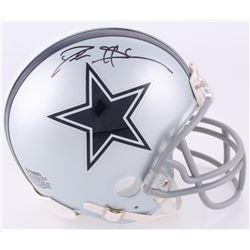 Deion Sanders Signed Cowboys Mini Helmet (JSA COA)