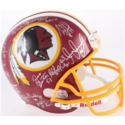 """Redskins """"The Hoggs"""" Full-Size Helmet Signed by (11) with R.C. Thielemann, Jeff Bostic, Joe Jacoby,"""
