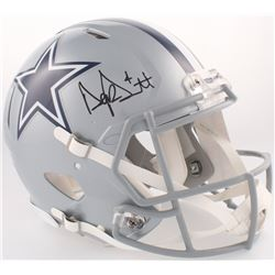 Dak Prescott Signed Cowboys Full-Size Authentic On-Field Speed Helmet (JSA COA)