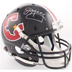 Jim Kelly Signed Gamblers Full-Size Helmet (JSA COA)