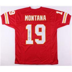 Joe Montana Signed Chiefs Jersey (JSA COA)