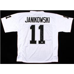 Sebastian Janikowski Signed Raiders Jersey (JSA COA)
