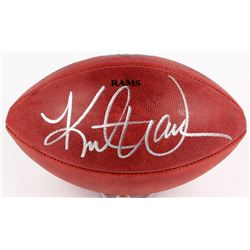 Kurt Warner Signed  The Duke  Official Rams NFL Game Ball (Radtke COA  Warner Hologram)