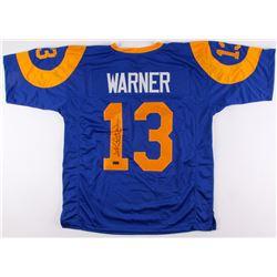 Kurt Warner Signed Rams Jersey (Radtke COA)