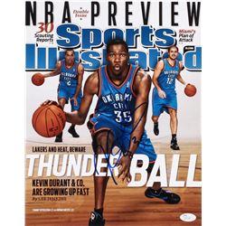 Kevin Durant Signed Sports Illustrated Magazine 11x14 Photo (JSA Hologram)