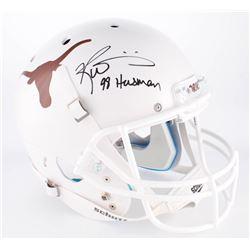 "Ricky Williams Signed Texas Longhorns Full-Size Helmet Inscribed ""98 Heisman"" (Radtke COA)"