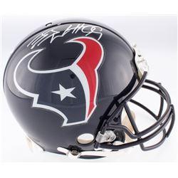 J.J. Watt Signed Texans Authentic On-Field Full-Size Helmet (JSA COA  Watt Hologram)