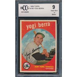1959 Topps #180 Yogi Berra (BCCG 9)