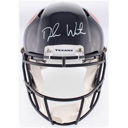 Deshaun Watson Signed Texans Authentic On-Field Full-Size Speed Helmet (Beckett COA  Watson Hologram