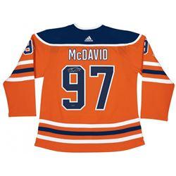 Connor McDavid Signed Oilers Jersey (UDA COA)