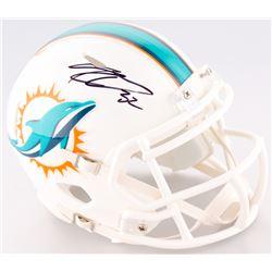 Kenyan Drake Signed Dolphins Mini Speed Helmet (Schwartz COA)