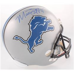 Matthew Stafford Signed Lions Full-Size Helmet (Stafford Hologram)