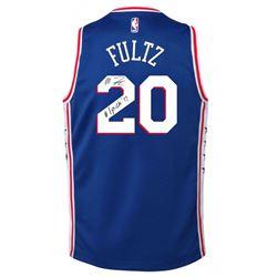 """Markelle Fultz Signed 76ers Jersey Inscribed """"#1 Pick '17"""" (UDA Hologram)"""