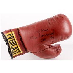 Muhammad Ali Signed Everlast Boxing Glove (JSA ALOA)