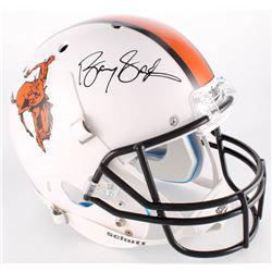 Barry Sanders Signed Oklahoma State Cowboys Full-Size Helmet (Radtke COA)