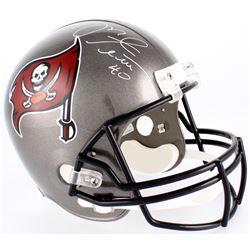 Mike Alstott Signed Buccaneers Full-Sized Helmet (Radtke COA)