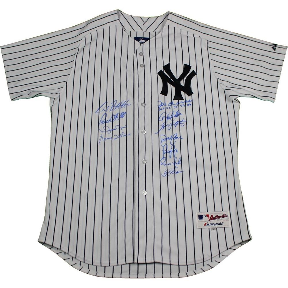 925ae76bd8b Image 1   New York Yankees Dynasty LE Authentic  6 Pinstripe Jersey Team -Signed