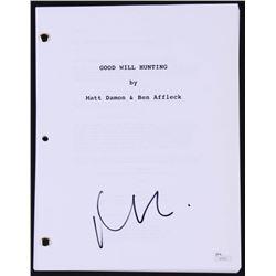 """Matt Damon Signed """"Good Will Hunting"""" Full Movie Script (JSA COA)"""
