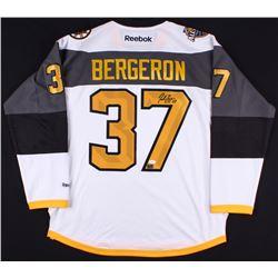 Patrice Bergeron Signed 2016 NHL All Star Reebok Jersey (JSA COA)