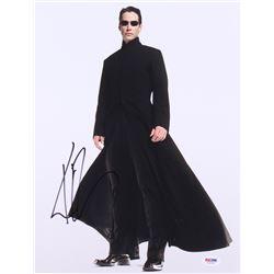 "Keanu Reeves Signed ""The Matrix"" 11x14 Photo (PSA COA)"