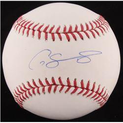 Gary Sanchez Signed OML Baseball (Steiner COA)