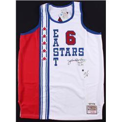 """Julius """"Dr. J"""" Erving Signed East Stars All-Star Game Jersey Inscribed """"MVP ' 77 '83"""" (JSA COA)"""