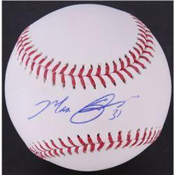 Max Scherzer Signed OML Baseball (JSA COA)
