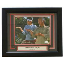 "Ralph Macchio Signed ""Karate Kid"" 13"" x 17"" Custom Framed Photo Display (JSA COA)"