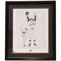 """Tug McGraw  Mike Schmidt"" Phillies Word Art 22x27 Custom Framed Print Display"