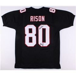 """Andre Rison Signed Falcons Jersey Inscribed """"Showtime"""" (JSA COA)"""