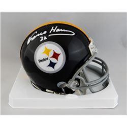 Franco Harris Signed Steelers Mini Helmet (JSA COA)