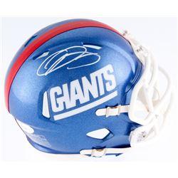 Odell Beckham Jr. Signed Giants Mini Speed Helmet (JSA COA)