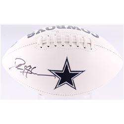 Deion Sanders Signed Cowboys Logo Football (JSA COA)