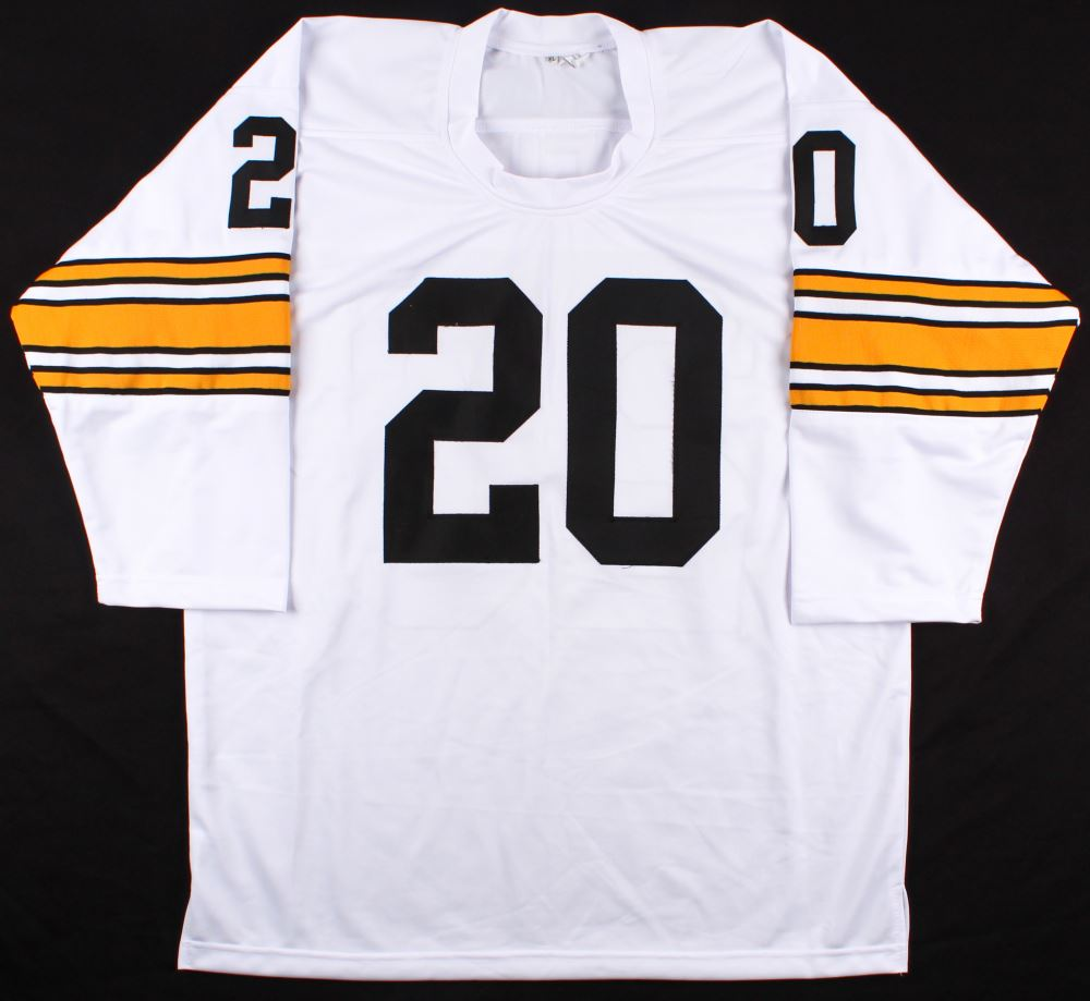 separation shoes 98a1f ee02a Rocky Bleier Signed Steelers Jersey Inscribed