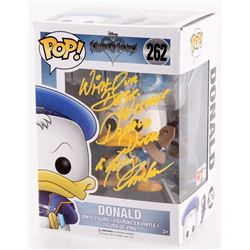 "Tony Anselmo Signed  Inscribed ""Donald Duck"" Kingdom Hearts Disney #262 Funko Pop! Vinyl Figure (PA"