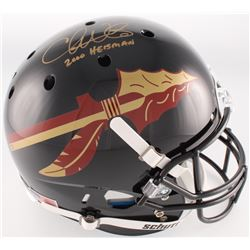 "Chris Weinke Signed Florida State Seminoles Full-Size Helmet Inscribed ""2000 Heisman"" (Radtke COA)"