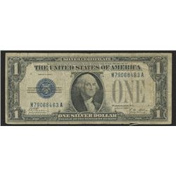 "1928-A $1 One Dollar ""Funny Back"" Silver Certificate Bank Note"