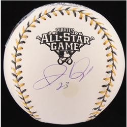 Jermaine Dye Signed Official 2006 All-Star Game Baseball (Mounted Memories Hologram  Fanatics Hologr